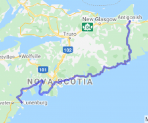 The Eastern and Southern Shores of Nova Scotia (Nova Scotia, Canada) |  Canada