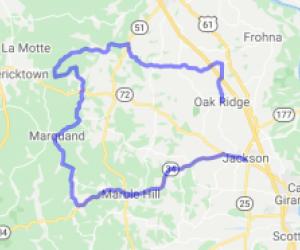 Jackson to Oak Ridge Loop |  Missouri