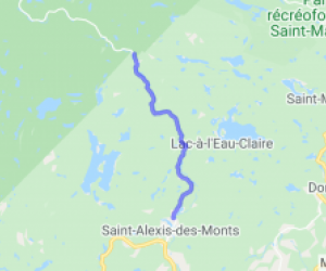 Saint-Alexis-des-Monts to Pins Rouges |  Canada