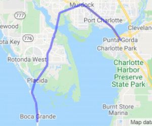 From Punta Gorda to Gasparilla Island State Park |  Florida