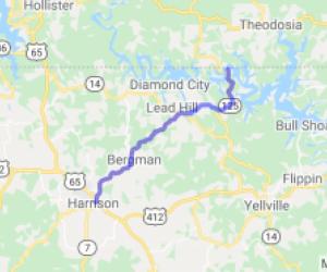 Harrison to Peel Ferry - AR-7 to AR-125 |  Arkansas
