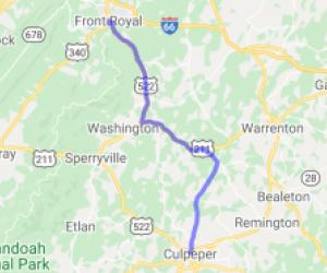 Virginia Bliss / Rt. 522 |  Virginia