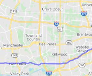Big Bend Boulevard and Road |  Missouri
