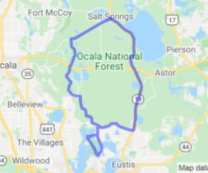 Emeralda Marsh Ocala National Forest Loop |  Florida