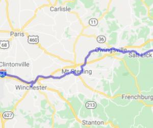 Morehead to Lexington on US60 |  Kentucky