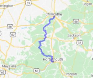 Chillicothe to Portsmouth - the scenic ride |  Ohio
